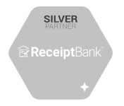 Receipt Bank - Silver small